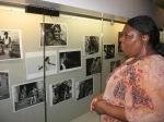 CCSF Librarian views Afrodescendientes
