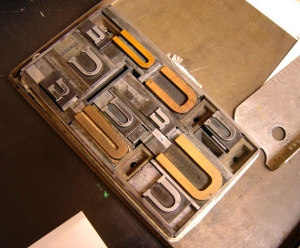 Letterpress Wooden Type