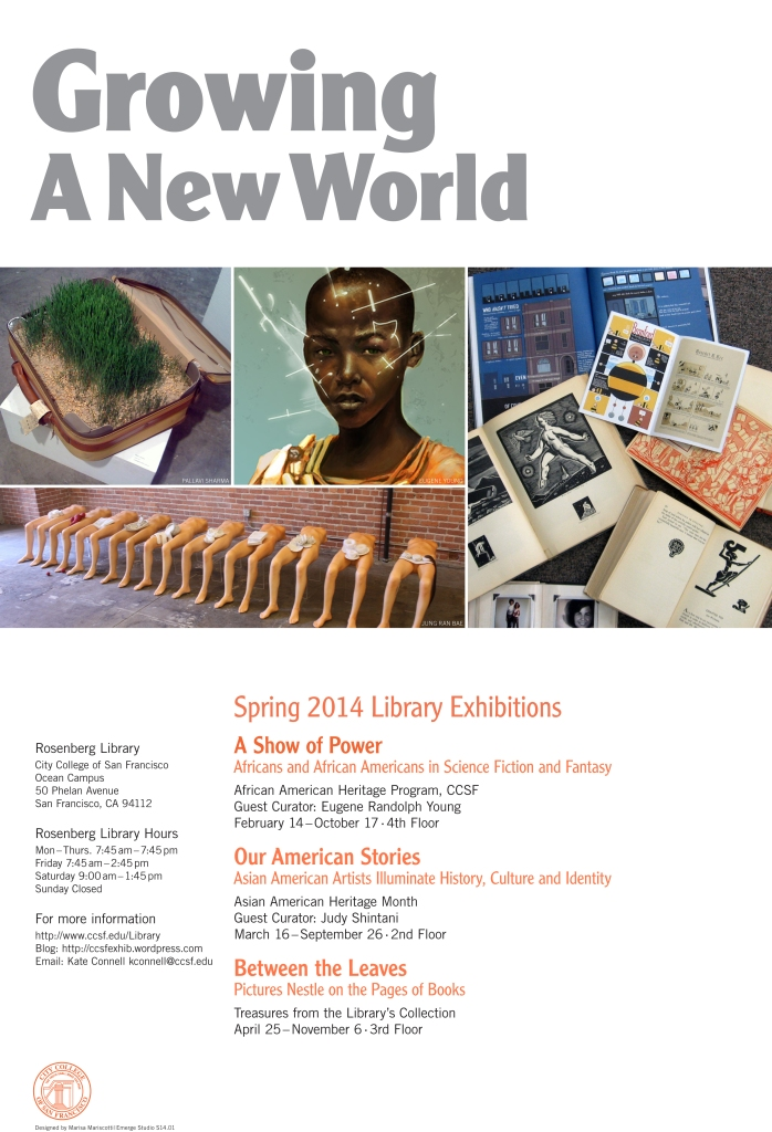 Spring 2014 Library Exhibitions