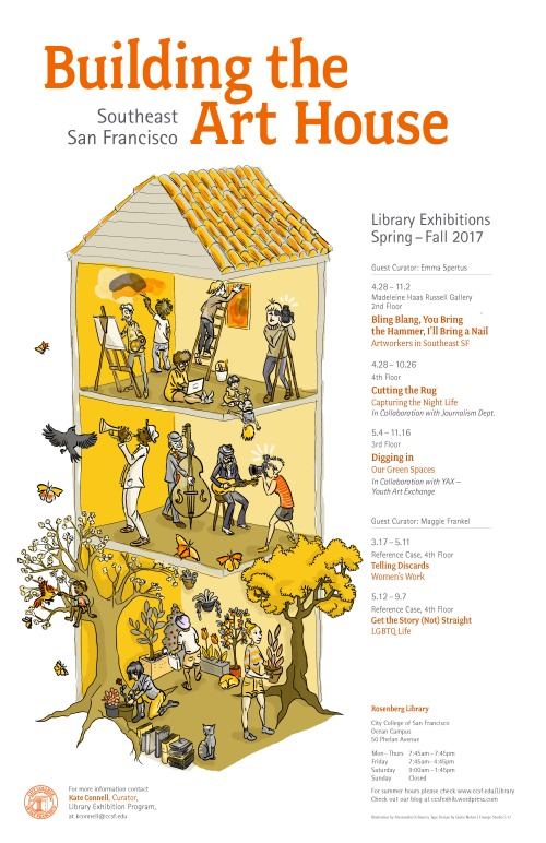 4.11 Library Exhibition Poster