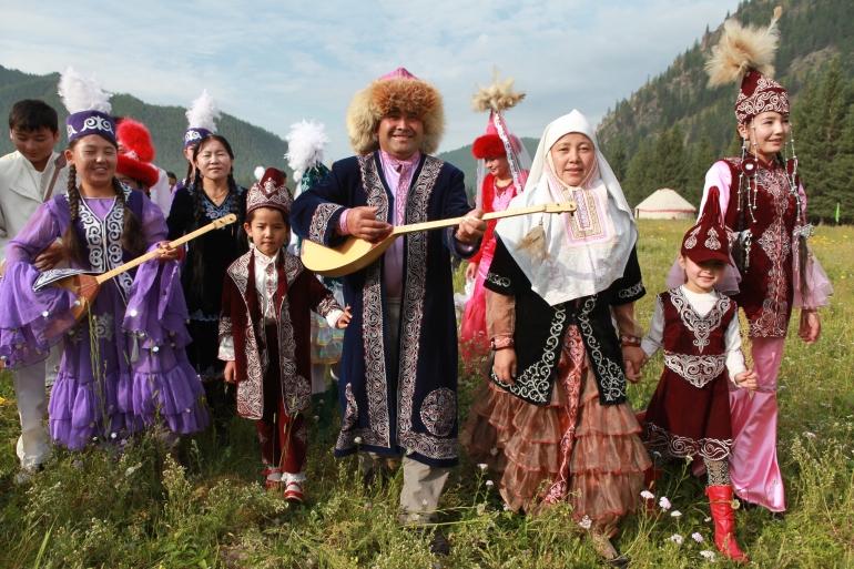 53.哈薩克族 生活照片